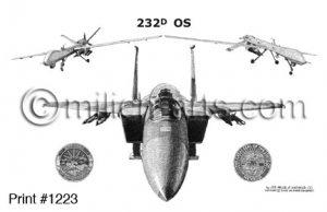 USAF Squadron Prints